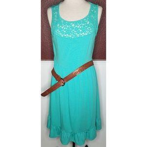 Torrid cotton blend midi dress